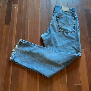 Vintage Distressed Levi's 550 Relaxed Fit Jeans
